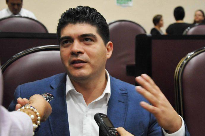 El diputado local Zenyazen Roberto Escobar García/Fotover