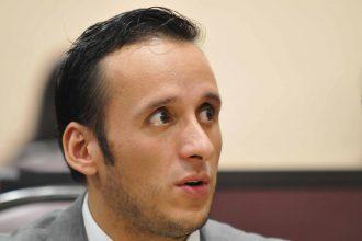 Sergio Hernandez Hernandez, coordinador del gurpo legislativo del PAN/Fotover