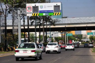 Foto multas en la ciudad de Xalapa/Fotover