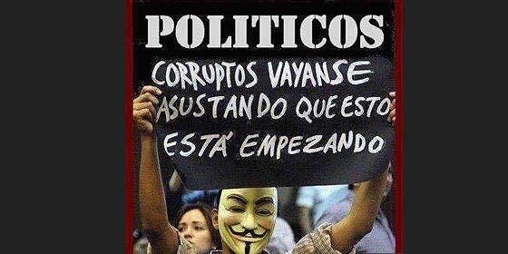 """Cuando la población roba, les llaman """"terroristas"""" y """"saboteadores"""", cuando los políticos roban, los dejan fugarse al extranjero y hasta de cónsules"""