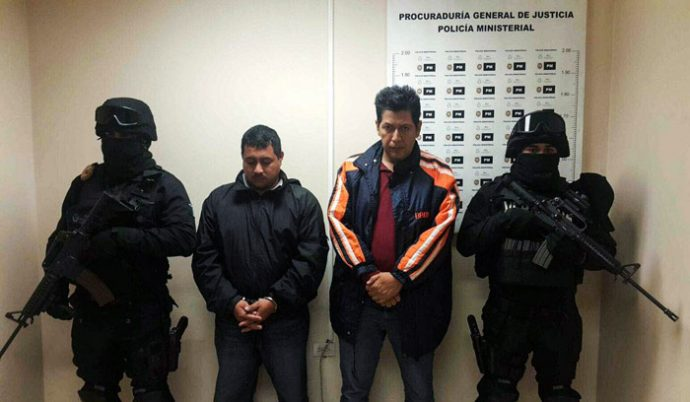 Familiares piden al fiscal Jorge Winckler se investige a Marco Conde por desaparición de 8 policias, PGR ya lo exculpó de delincuencia organizada