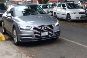 Este Audi no es de la ministra de finanzas del estado Clementina Guerrero