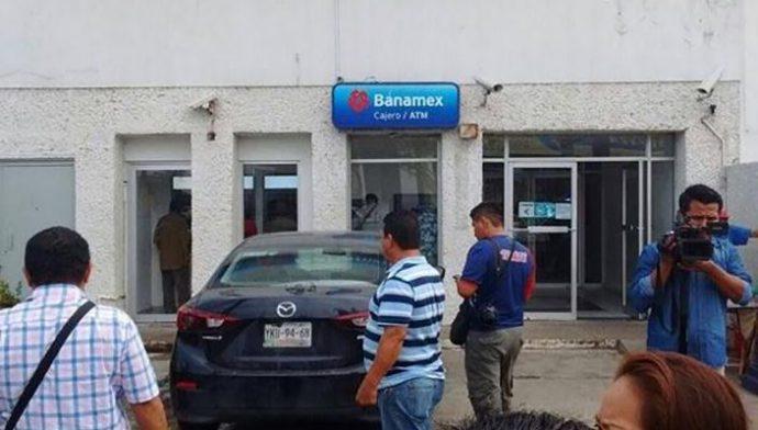 Los asaltos a bancos en Veracruz y Boca del Río, continúan