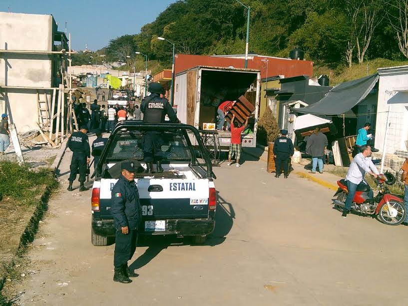 Desalojan a 10 familias de unidad villas xalapa con exceso for Villas xalapa