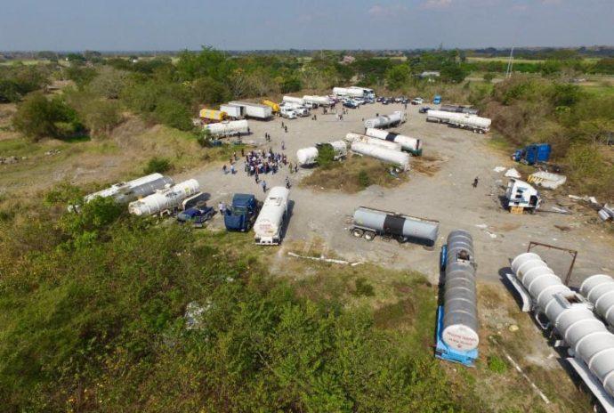 Ahí mismo en Cuitláhuac los delincuentes guardaban los vehículos robados y ninguna autoridad habia actuado