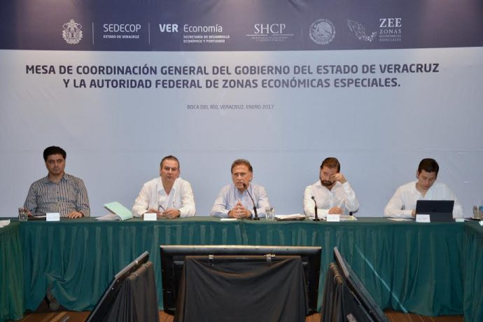 La Zona Económica Especial Coatzacoalcos atraerá 57 mil empleos y una inversión de hasta 12 mil 921 millones de dólares para el sur del Estado durante los primeros diez años