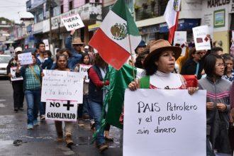 También en Xalapa buscarán ampararse contra el gasolinazo