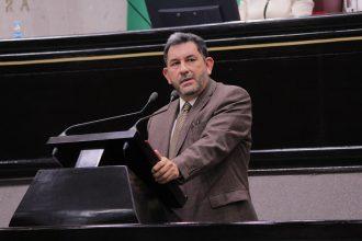 Amado Cruz el coordinador de MORENA en la cámara local exige disculpas a las dos diputadas señaladas injustamente
