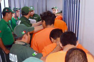 17 de los detenidos fueron trasladados al penal de Pacho Viejo, 11 al de Tuxpan, 10 a Amatlán y 2 a Cosamaloapan
