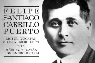 Felipe Carrillo Puerto muere fusilado por pedir libertad y justicia
