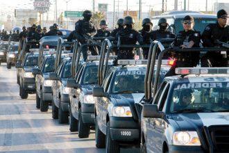 Manda la federación 250 policias federales más, para resguardar centros comerciales en Veracruz