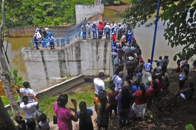 La presa Yuribia ya fue abierta otra vez