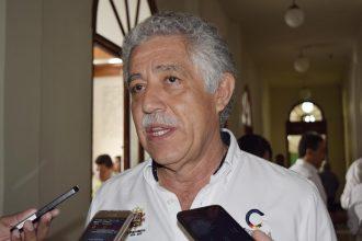 El alcalde de Córdoba Tomás Ríos y el de Boca del Río Miguel Yunes Márquez, unen esfuerzos para un buen campeonato de Voleibol