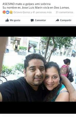 José Luis Marín asesinó a patadas a su esposa, familia pide apoyo para localizarlo....