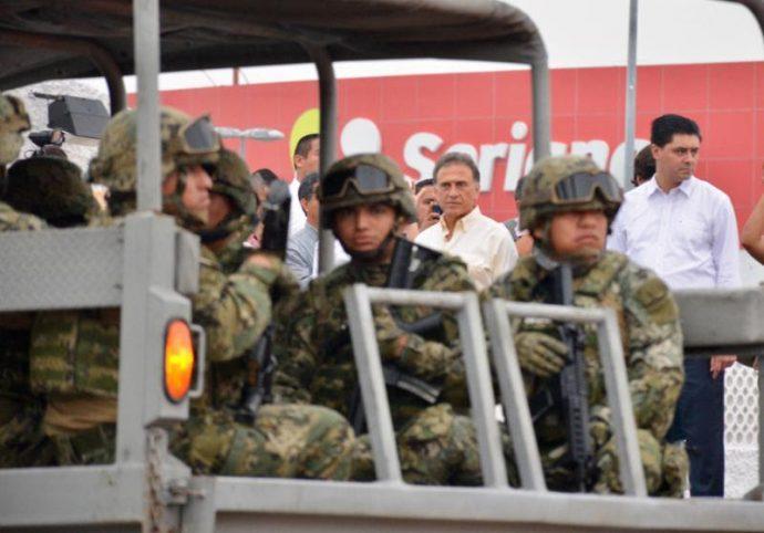 Arriba la Gendarmería Nacional para sumarse al Operativo de Seguridad en Veracruz