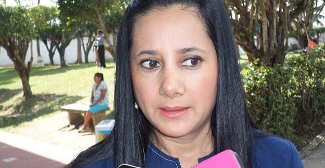 Karla Verónica González regidora octava por el PAN en el municipio de Minatitlán
