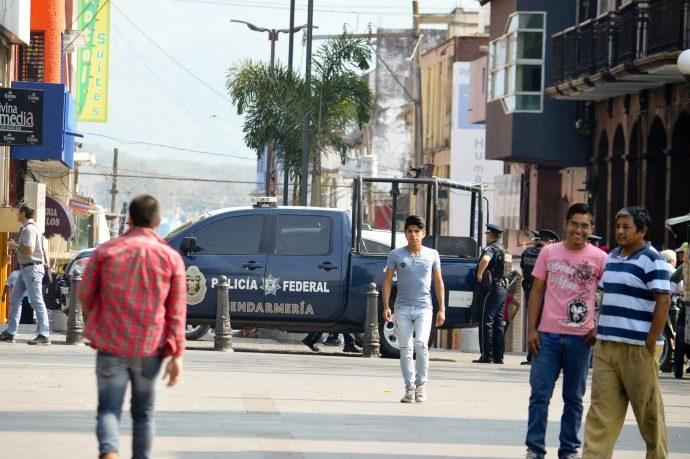 Presencia de la la Gendarmerñia Nacional en Córdoba/Fotover