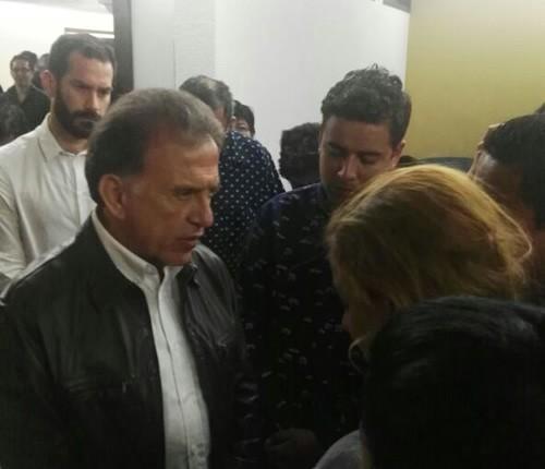 Ofreció el gobernador MAYL el pésame a la familia del periodista Ricardo Monlui Cabrera