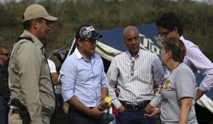 Fiscal acudió por primera vez al llamado de los colectivos y les pidió paciencia a las madres que buscan a sus seres desaparecidos/  FOTO: ILSE HUESCA /CUARTOSCURO.COM