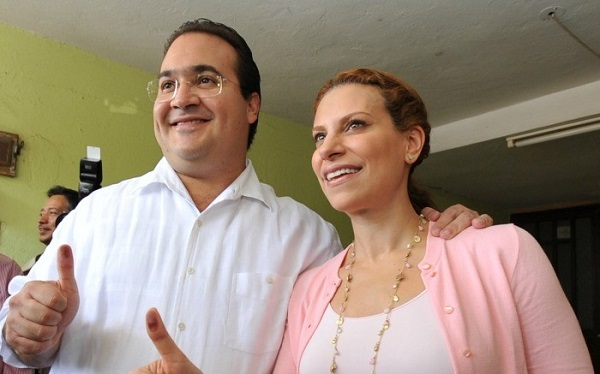 Javier Duarte de Ochoa y su esposa Karime Macías siguen libres y tan tranquilos/ FOTOJAROCHA.COM/ Sofia Dorantes
