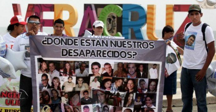 5 mil 852 casos de desapariciones están denunciadas en Veracruz, pero mucha gente no denunció por amenazas