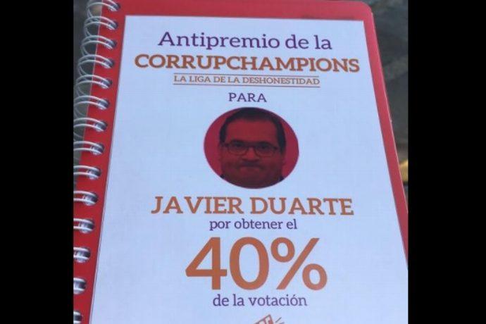 Duarte es el político más corrupto; gana el