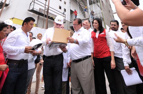Cae empresario que dejó inconclusa la Torre Pediátrica de Veracruz