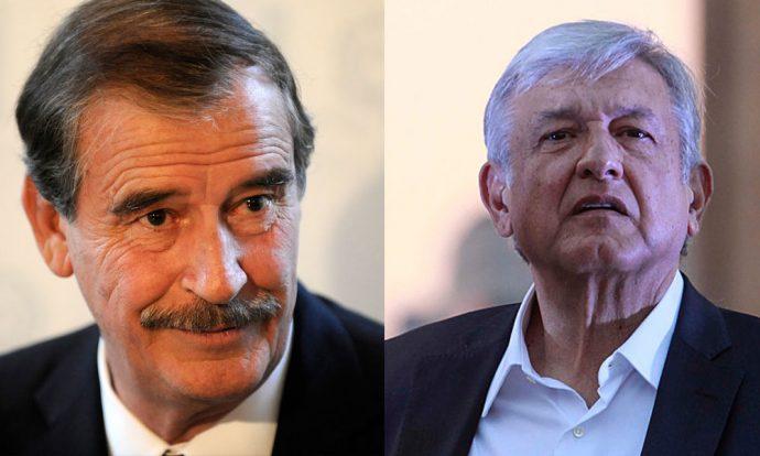 Fox acusa a López Obrador de apoyar dictaduras en otros países