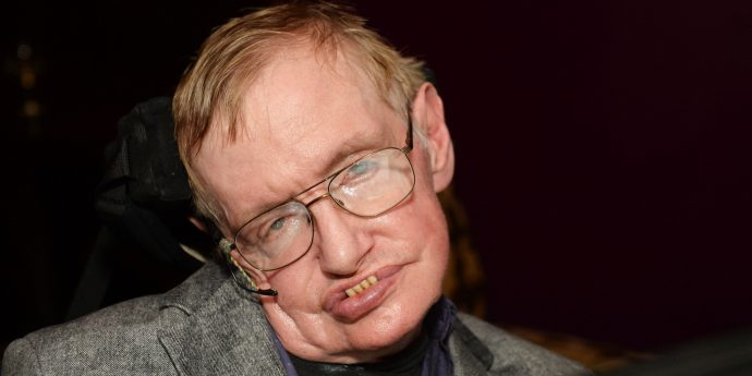 Stephen Hawking, lapidario: