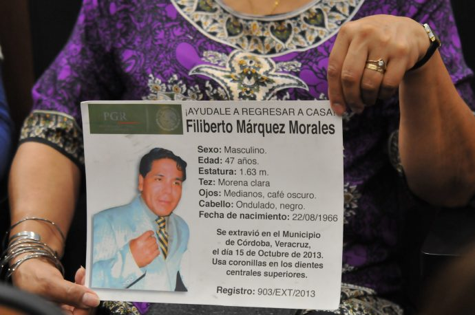 Hubo impunidad y corrupción en 81 casos de desaparecidos: CEDH