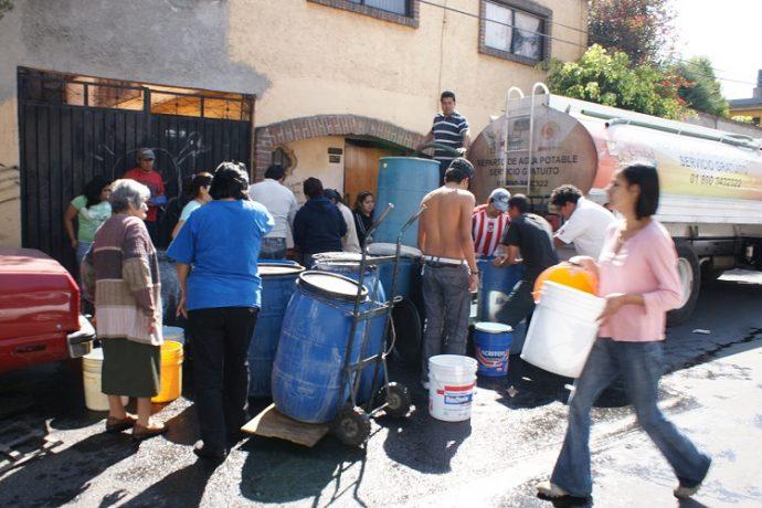 Resultado de imagen para Más de 300 mil quedarían sin agua en Tláhuac