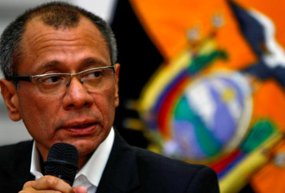 Justicia de Ecuador define hoy suerte del vicepresidente Glas por caso Odebrecht