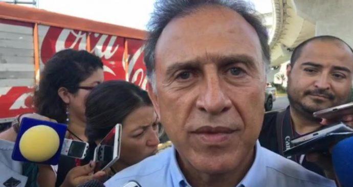 Gobierno federal no me presionó para ayudar a Duarte: Miguel Ángel Yunes