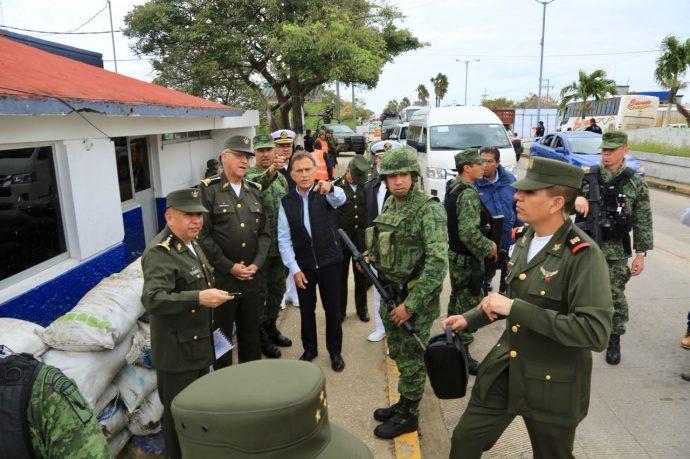 Titular De La Secretaría De La Defensa Nacional En Veracruz