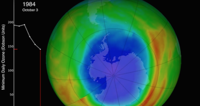 La capa de ozono se está restaurando según expertos de la NASA