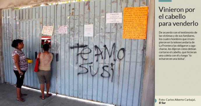 Irrumpen armados en escuela de Acapulco y asaltan a maestros y alumnos