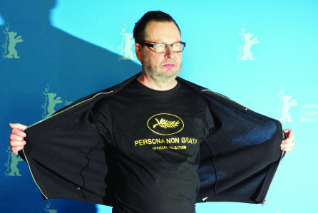 Lars von Trier vuelve Cannes con