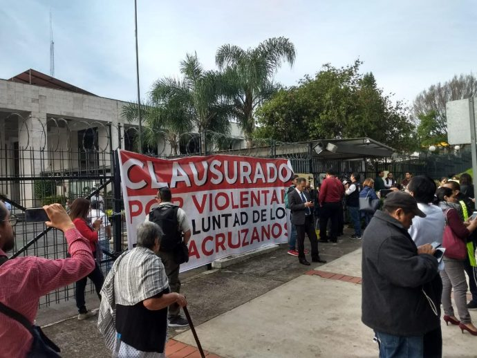 Diputados de Morena toman el Congreso para evitar que PAN y PRD designen a los 12 magistrados Yunistas 1-2-690x518