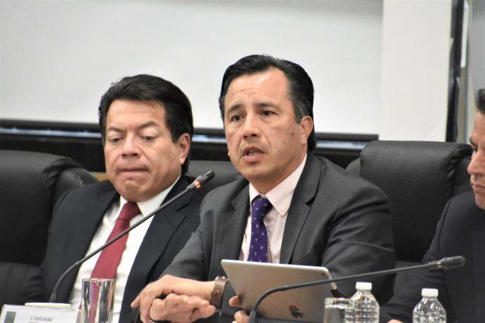 Sin solución ¡¡¡ En Veracruz operan 6 carteles y su poder rebasa al Estado dice Cuitláhuac García AUDIENCIAS-P%C3%9ABLICAS-SOBRE-GUARDIA-NACIONAL-2-690x460