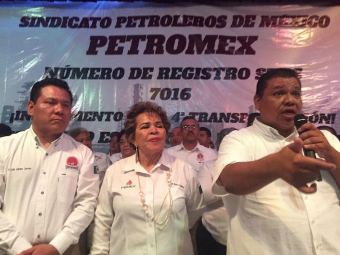 Surge nuevo sindicato petrolero