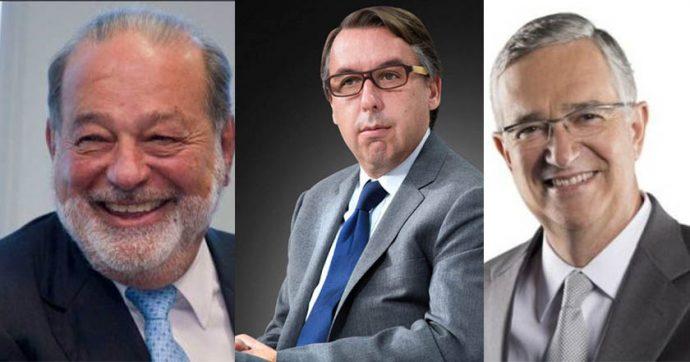 Slim, Salinas y Azcárraga darán internet a universidades