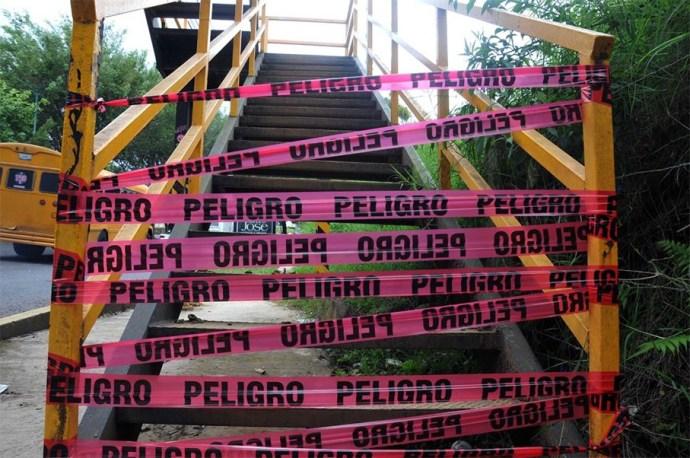 Urge regidor Pérez Sánchez rehabilitar los puentes en mal estado de Xalapa - plumas libres